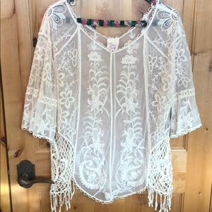 Pretty Angel Blouse with Tank